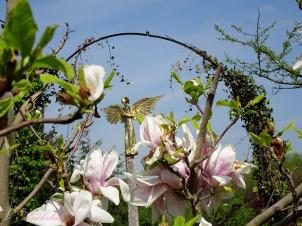 brama anioł złoty magnolia park Bródn 01